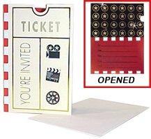 Movie Ticket Invitation (Movie Ticket Invitation Cards)