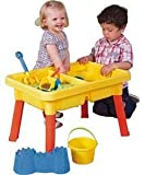 CHIMAERA Multi-Play 2-in-1 Sandbox / Sand and Water Table with Beach Playset