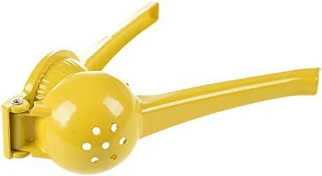 Cuasting - Exprimidor de limón amarillo (metal)