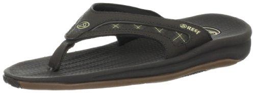 (Reef Men's Flex Sandal, BROWN PLAID, 8 M US)