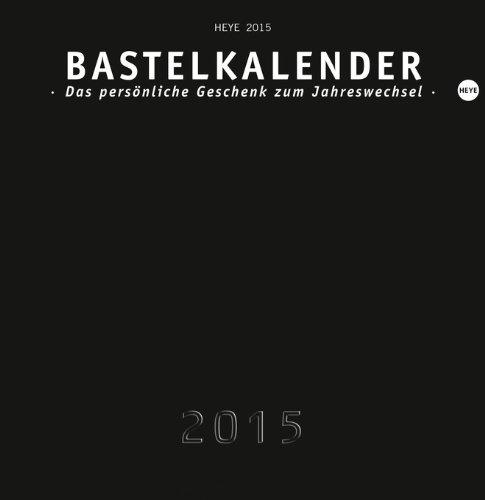 Bastelkalender, schwarz mittel 2015