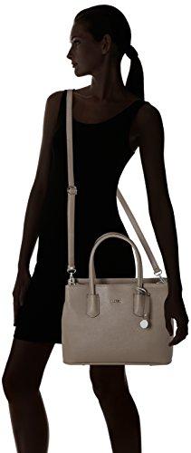 bolsos Credi Taupe Yvonne L Mujer hombro y Shoppers de Marrón 1CIgHq