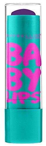 Baby Vines - Maybelline New York Baby Lips Moisturizing Lip Balm, Grape Vine, 0.15 Ounce