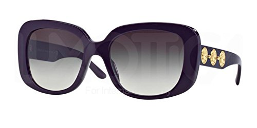 Versace Women's  VE 4284-5064/8G Frame: Purple / Lens: Grey 56mm Sunglasses - Sunglasses Versace Purple