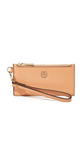 Tory Burch Parker Zip Card Case (Cardamom) by Tory Burch