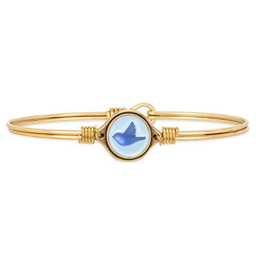 Luca + Danni | Bluebird Bangle Bracelet For Women Made in USA