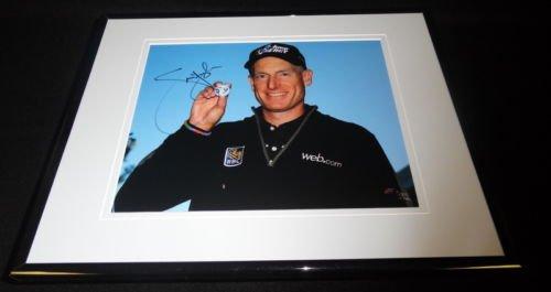 Jim Furyk Signed Framed 8x10 Photo D - Jim Furyk Framed