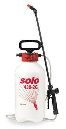 (Solo 430-2G 2-Gallon Farm and Garden Sprayer with Nozzle Tips for Multiple Spraying Needs )