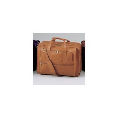(Cowhide Leather Briefcase Color: Cognac)