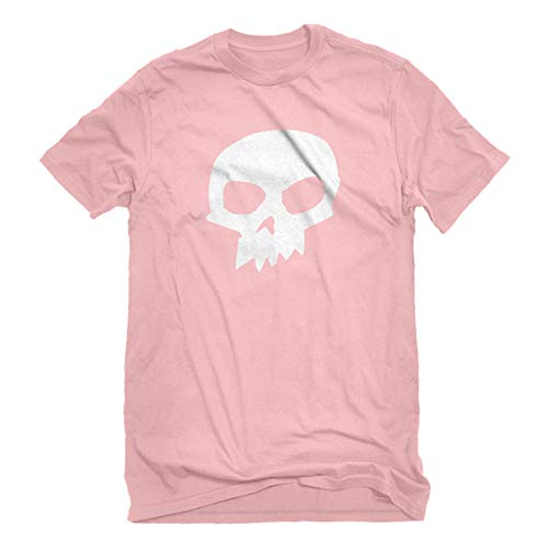 Indica Plateau Mens Sid Skull Shirt XX-Large Light Pink -