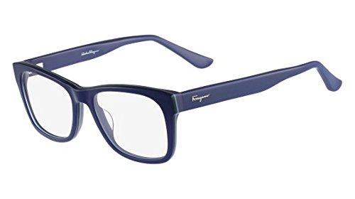 6cd6633f99 Image Unavailable. Image not available for. Color  Eyeglasses FERRAGAMO SF  2693 412 BLUE NAVY. Salvatore Ferragamo