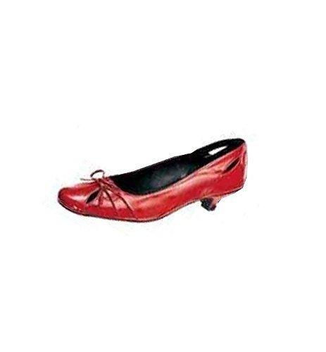 haupteingang Womens Ballerina schwarz Ballet Flats Noir - Noir WWbMGq7