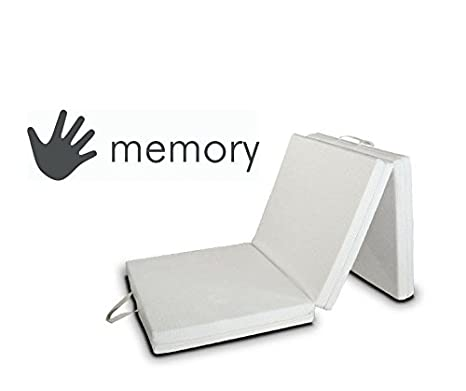 EvergreenWeb Colchón Futón Memory, Cama colchón futón con Salvaspazio Memory, colchón, colchón Plegable: Amazon.es: Hogar