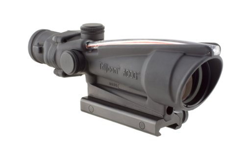 Trijicon ACOG 3.5 X 35 Scope Dual Illuminated Chevron .308 Ballistic Reticle, Red