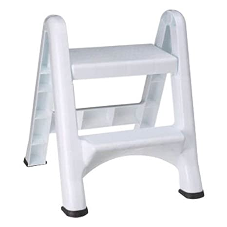 Surprising Rubbermaid Commercial Products Two Step Folding Stepstool White 300 Pound Load Capacity 22 7 8 Inches X 21 Depth X 18 7 8 Inches Caraccident5 Cool Chair Designs And Ideas Caraccident5Info