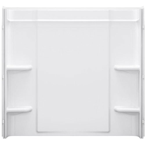 (STERLING 71374100-0 Ensemble 60-Inch x 30-Inch Vikrell 3-Piece Shower Wall,)