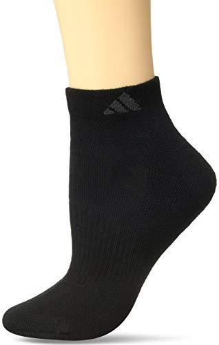 - adidas Women's Cushioned Low Cut Socks (3-Pack), Black, One Size