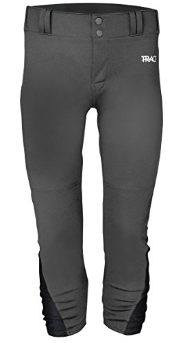 Schutt Trace Youth Softball Pant with Inset M Gy/BK