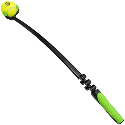 Franklin Pet Supply Dog Fetch Toy - Tennis Ball Launcher - Play Fetch with Your Dog - Dog Ball Launcher