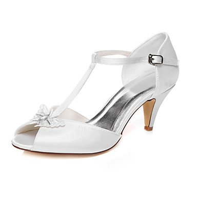 White Toe Shoes Wedding Wedding Women'S Peep Sandals qPHaYFw