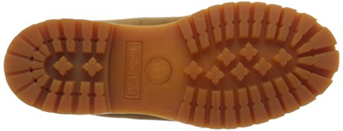 Timberland Herren 6 Inch Premium Waterproof Klassische Stiefel Orange (Rust Nubuck 827)