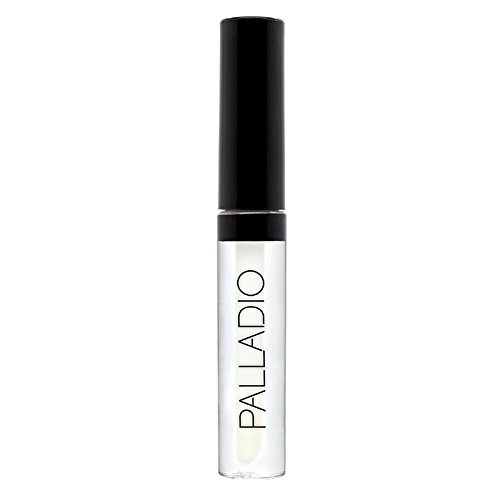 Palladio Lip Gloss, Clear, Non-Sticky Lip Gloss, Contains Vitamin E and Aloe, Offers Intense Color and Moisturization, Minimizes Lip Wrinkles, Softens Lips with Beautiful Shiny Finish (Best Clear Lip Gloss)
