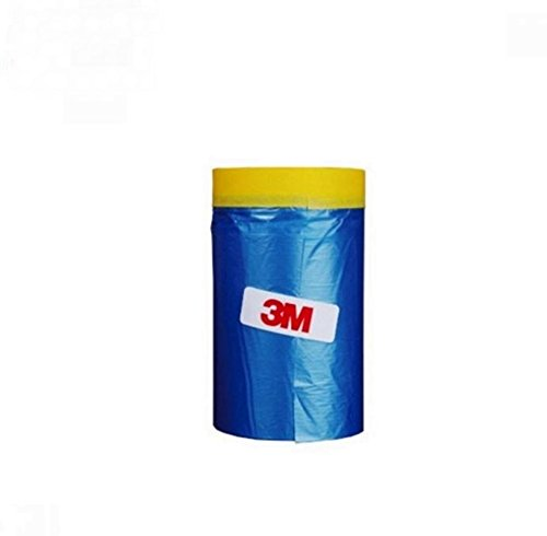 3M Car Masking Tape, Tape'n Drape Pre-Taped (65 Feet ) (25.6 In)