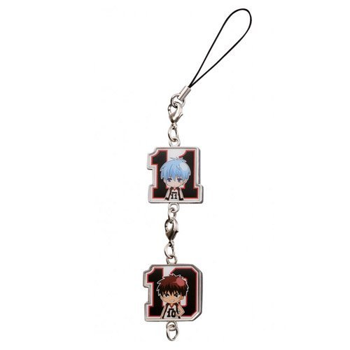 And in basketball in Japan - most of lottery Kuroko ~ I award Metal Charm Strap Kuroko and fire God [one piece of article] (japan import) by Banpresto