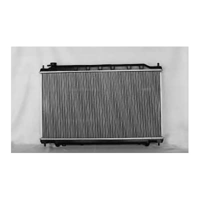 TYC 2414 Compatible with NISSAN Altima 1-Row Plastic Aluminum Replacement Radiator: Automotive