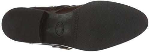 Inuovo LOUREED - botas de cuero mujer marrón - marrón (Dark Brown)