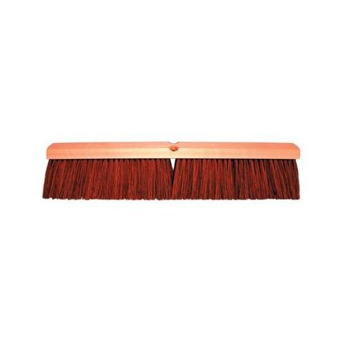 No. 12 Line Garage Brushes - 30'' garage brush w/b60 2e8b2d brown plast