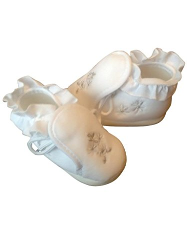 Zapatos festivas para bautizo o una boda - zapatos de bautizo para niñas, bebés TP15 tamaño 19