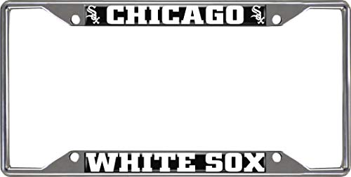 Chicago White Adult Chair Sox - FANMATS MLB - Chicago White Sox License Plate Frame