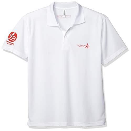 ヤマガブランクス (YAMAGA Blanks) 2019 YB 원래 드라이 폴로 셔츠 화이트레드 L / Yamaga Blanks 2019 YB Original Dry Polo Shirt WhiteRed L