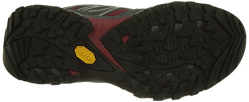 The North Face Hedgehog Fastpack Gtx, Botas de Senderismo para Hombre Negro (Black /                 Rudy Red)