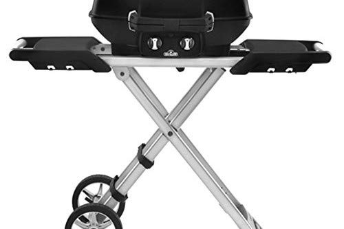(Napoleon Grills PRO285X-BK Travel with Scissor Cart)