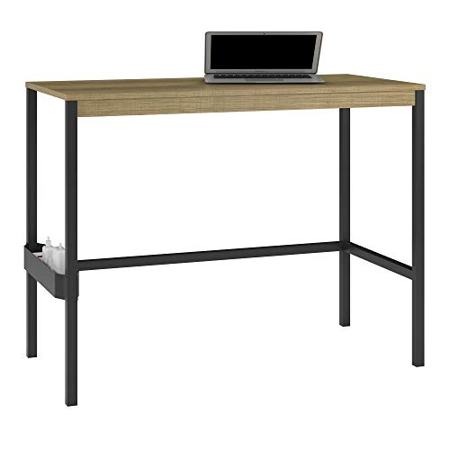 Ameriwood Home 9856885COM Kayden Computer Desk, Golden Oak, Golden ()