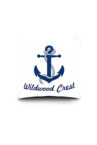 Amazon.com: Wildwood escudo, nueva Jersey, diseño Anchor ...