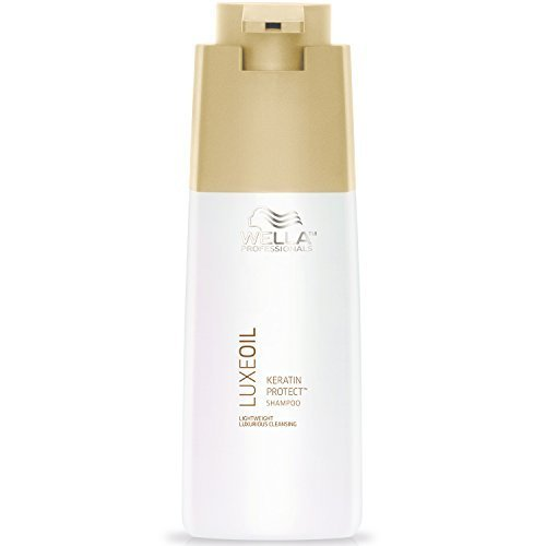 Wella Luxeoil Keratin Protect Shampoo, 33.8 Ounce by Wella