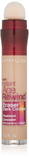 Essie Treatment - Maybelline Instant Age Rewind Eraser Dark Circles Treatment Concealer, Medium, 0.2 fl. oz.