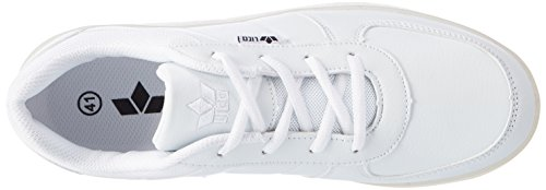 Lico Unisex Adults' Disco Low-Top Sneakers White (Weiss) 463uBmAqZ