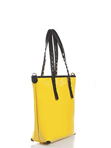 Gabs franco gabbrielli LUCREZIA-E17 TETU Bolso gran Accesorios Amarillo