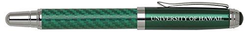 University of Hawai?i at M?noa - Carbon Fiber Rollerball Pen - Green
