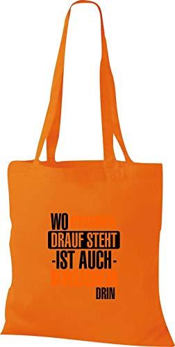 Asas Sho09820 Para Naranja Mujer Shirtstown De Bolso wtqxnpOdZA