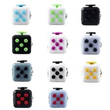 Stress Cube by POPPERS - Fidget Toy to Focus and Relieve Stress for Children & Adults Anxiety Attention Toy