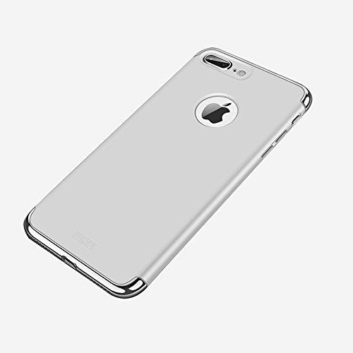 Wkae Ultra-dünne Drei-Stage-Spleißen Galvanische Seite Schutzhülle Rückseite für iPhone 7 Plus iPhone 8 Plus ( Size : Ip7p3652s )