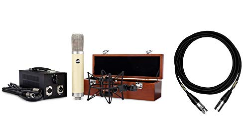 Warm Audio WA-251 Tube Condenser Microphone Bundle with 15-Foot Mogami Cable (2 Items)