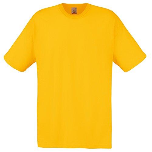 Fruit Of Homme T The Shirt Loom Jaune BpxPBqw