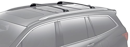 Bars Honda Pilot - BRIGHTLINES 2016-2019 Honda Pilot Crossbars Roof Racks (Black)