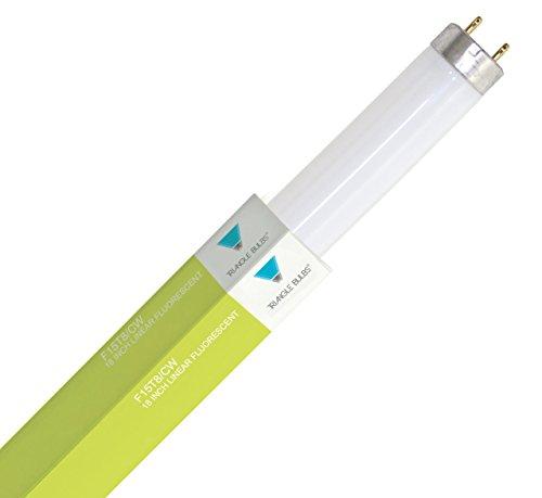 - TriGlow T30135 (6 pack) – F15T8/CW, 15 Watt, T8, 4100K Cool White, 18